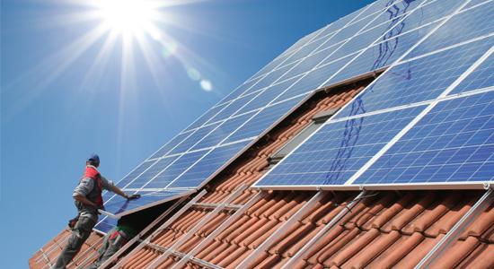 Installation panneaux solaire Eco-PTZ