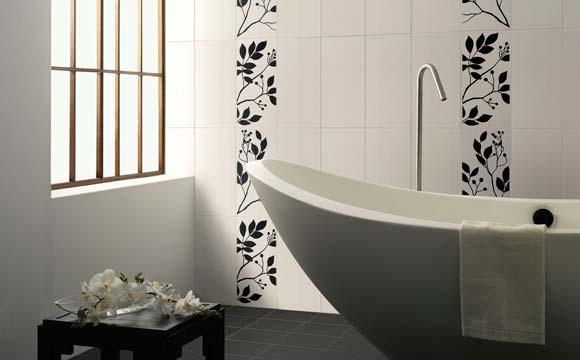 Pose d 39 un carrelage mural dans une salle de bain for Angle saillant carrelage