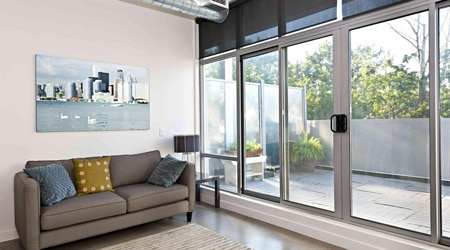 prix d 39 une baie vitr e sur mesure co t moyen tarif de pose. Black Bedroom Furniture Sets. Home Design Ideas