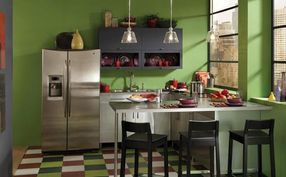 Où appliquer de la couleur dans sa cuisine ?