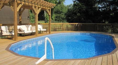 Prix d 39 une piscine hors sol co t moyen tarif de pose for Piscine miroir inconvenient