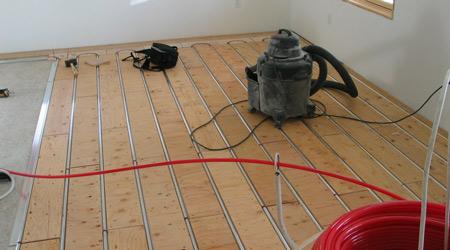 Prix d 39 un plancher chauffant hydrolique co t moyen tarif de pose - Prix plancher chauffant hydraulique ...