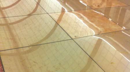 Cout cristallisation marbre