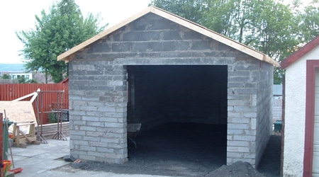 Prix d 39 un garage en parpaings co t de construction - Garage en parpaing de 20m2 ...