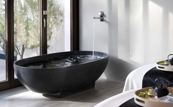 Qu'est-ce qu'une baignoire ilot