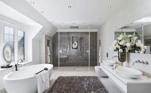 Une Baignoire Ilot Pour Une Salle De Bain Design Et Confortable