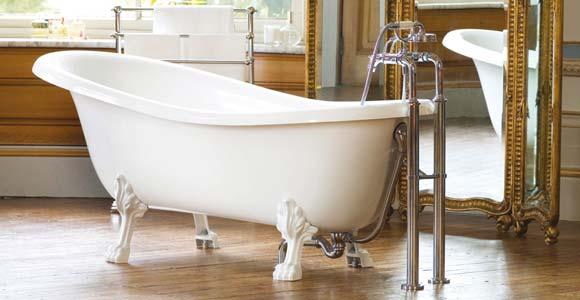 Une baignoire rétro dans votre salle de bain | Prix-Pose.com