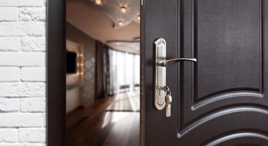 Bloc porte blindée ou blindage de porte d'entrée