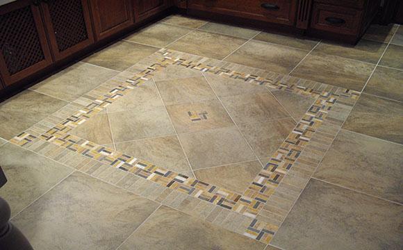 Carrelage pour sol de cuisine : la mosaïque