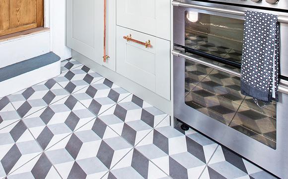 Carrelage pour sol de cuisine : la céramique