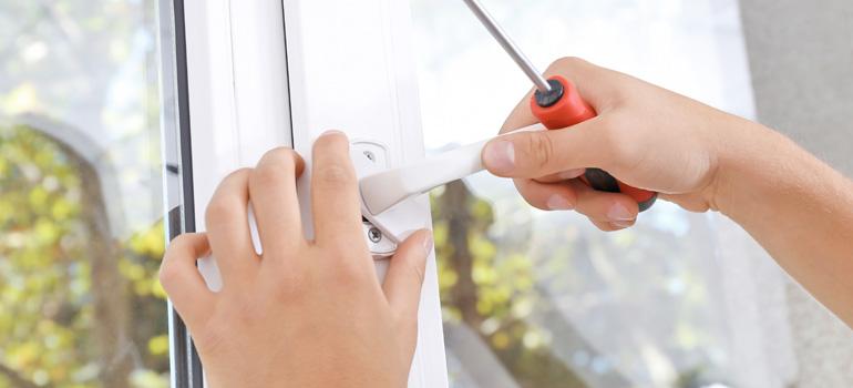 Changer une poignée de fenêtre