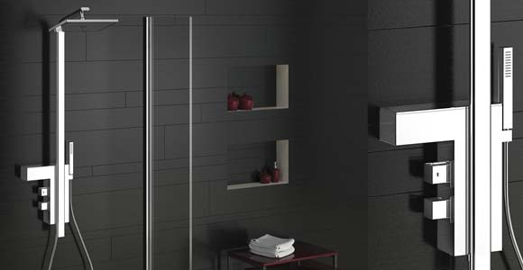 installation d 39 une colonne de douche le prix et la pose. Black Bedroom Furniture Sets. Home Design Ideas