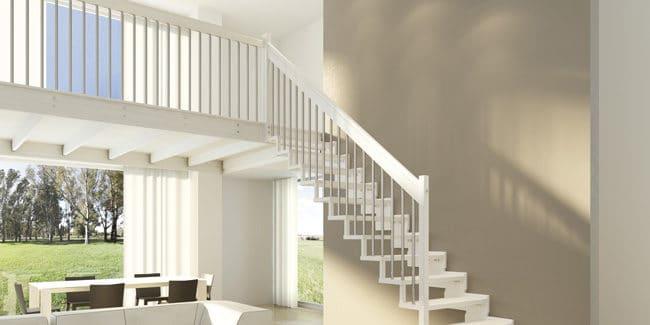 Choisir un escalier pour sa mezzanine