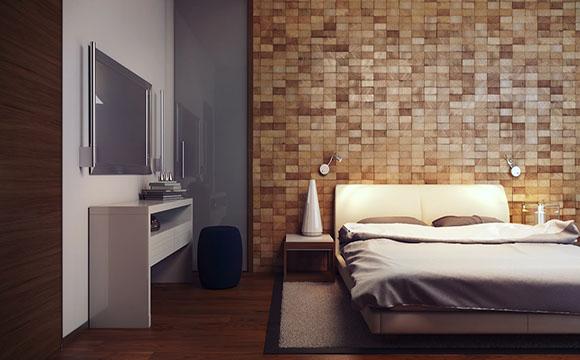 rev tement mural dans une chambre lequel choisir. Black Bedroom Furniture Sets. Home Design Ideas