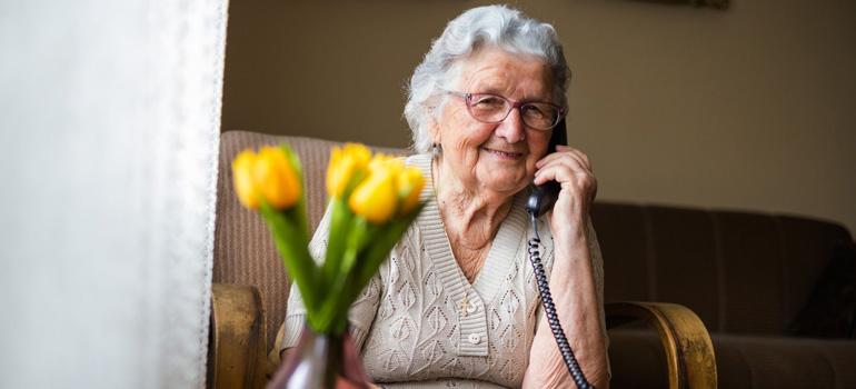 Cliente service de téléassistance
