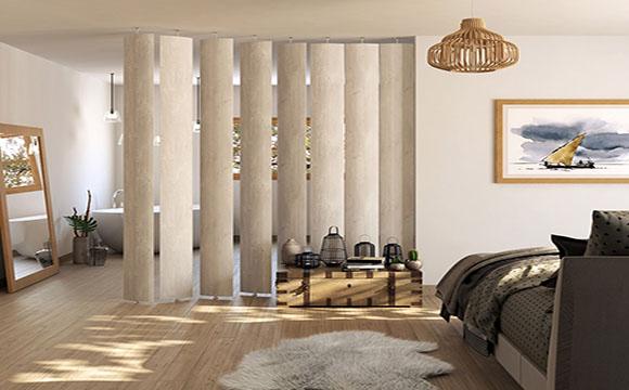 cloison amovible pour chambre mod les et tarif moyen. Black Bedroom Furniture Sets. Home Design Ideas