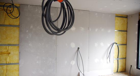 La cloison sèche en plaque de plâtre : Le placo ou BA13