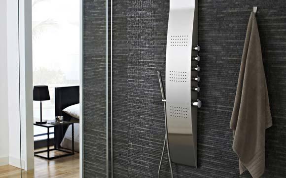 Colonne de douche très haut de gamme : Confort intégral