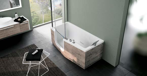 combin baignoire douche un 2 en 1 pratique et esth tique. Black Bedroom Furniture Sets. Home Design Ideas