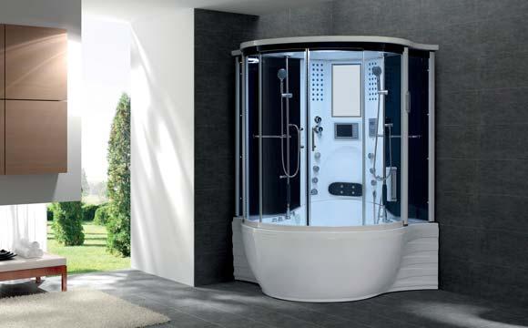 Le combiné baignoire douche, des possibilités nombreuses