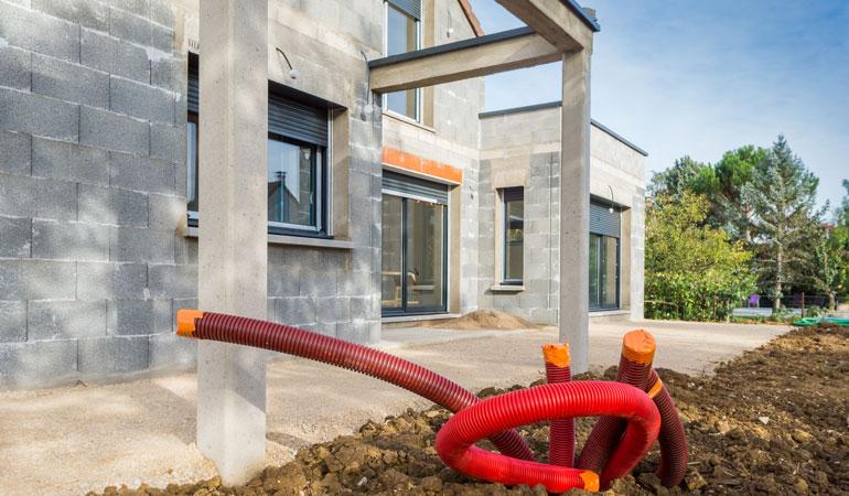 Construction du gros œuvre d'une maison : L'intervention des professionnels