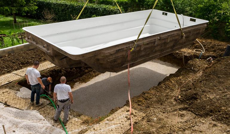 Construction d'une piscine enterrée : Coût de la main-d'œuvre