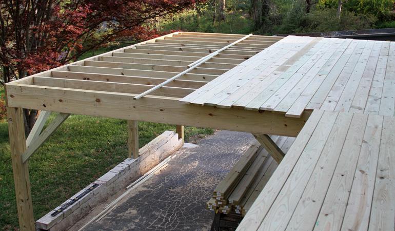 Construction d'une terrasse sur pilotis : Coût de la main-d'œuvre