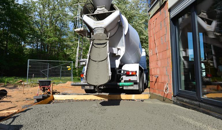 Construction d'une terrasse en béton : Coût de la main-d'oeuvre