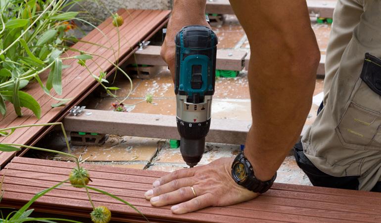 Construction d'une terrasse : L'intervention d'un professionnel