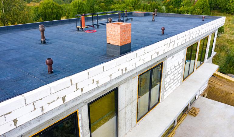 Construction d'un toit-terrasse : Coût de la main-d'œuvre