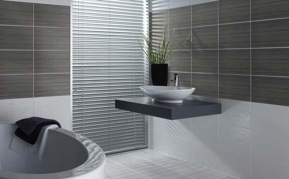 Coût d'une rénovation de salle de bain : Le prix des murs