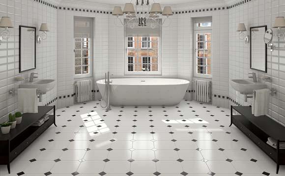 Coût d'une rénovation de salle de bain : Quelle gamme de prix pour les sols 1