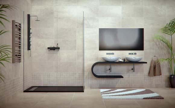 Installation d 39 une douche italienne quels l ments choisir - Siege pour douche italienne ...