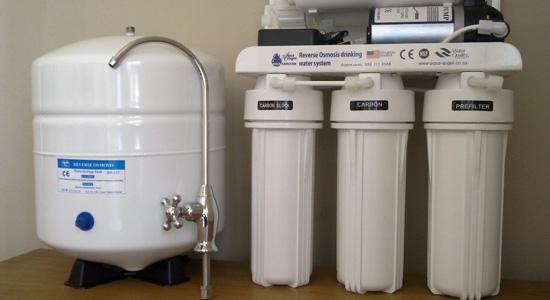 Entretien d'un osmoseur d'eau