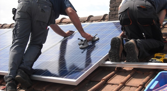L'entretien des panneaux solaires est minimal