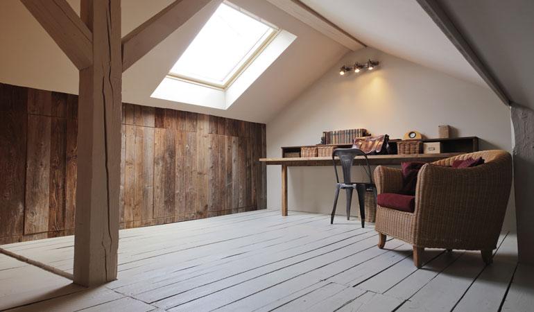 Exemple d'extension de maison : Un aménagement de combles