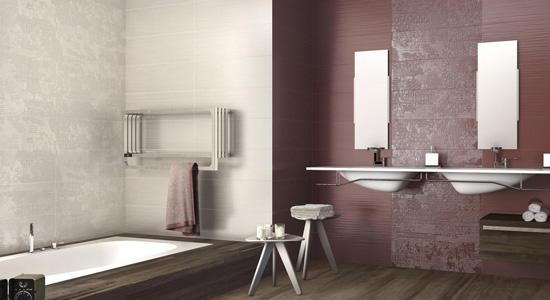 La faïence, idéale pour les salles de bain