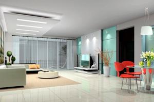 Faux plafond dans un salon, un élément essentiel