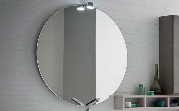Les formats des miroirs de salle de bain