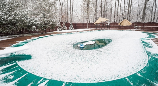 Réaliser un hivernage passif : Dans les régions froides