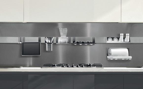 L'inox : l'autre classique des cuisines modernes