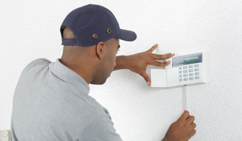 Installation d'une alarme de maison