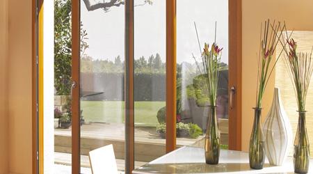 L'installation d'une baie vitrée bois