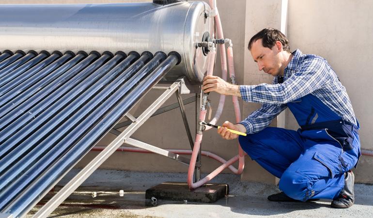 Installation d'un chauffe-eau solaire : Coût de la main-d'oeuvre
