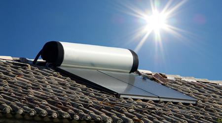 L'installation d'un chauffe eau solaire