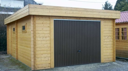 Prix d 39 un garage pr fabriqu co t de r alisation for Garage en bois 20m2