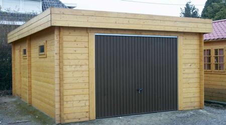 La réalisation d'un garage préfabriqué