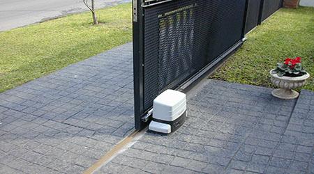 L'installation d'une motorisation de portail