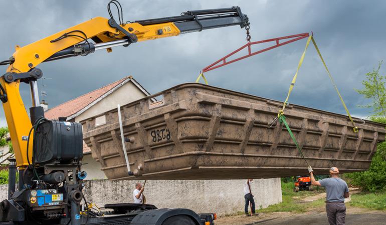 Installation d'une piscine coque : Coût de la main-d'œuvre