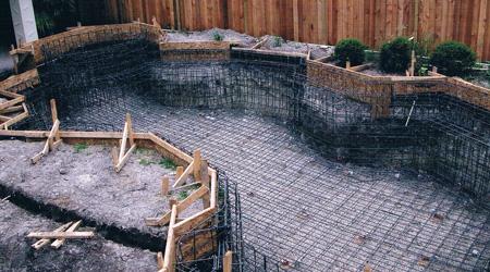 L'installation d'une piscine enterrée